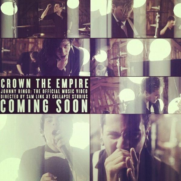 Crown The Empire Johnny Ringo Cant Wait For The Video Crown The Empire Music Bands Music Videos
