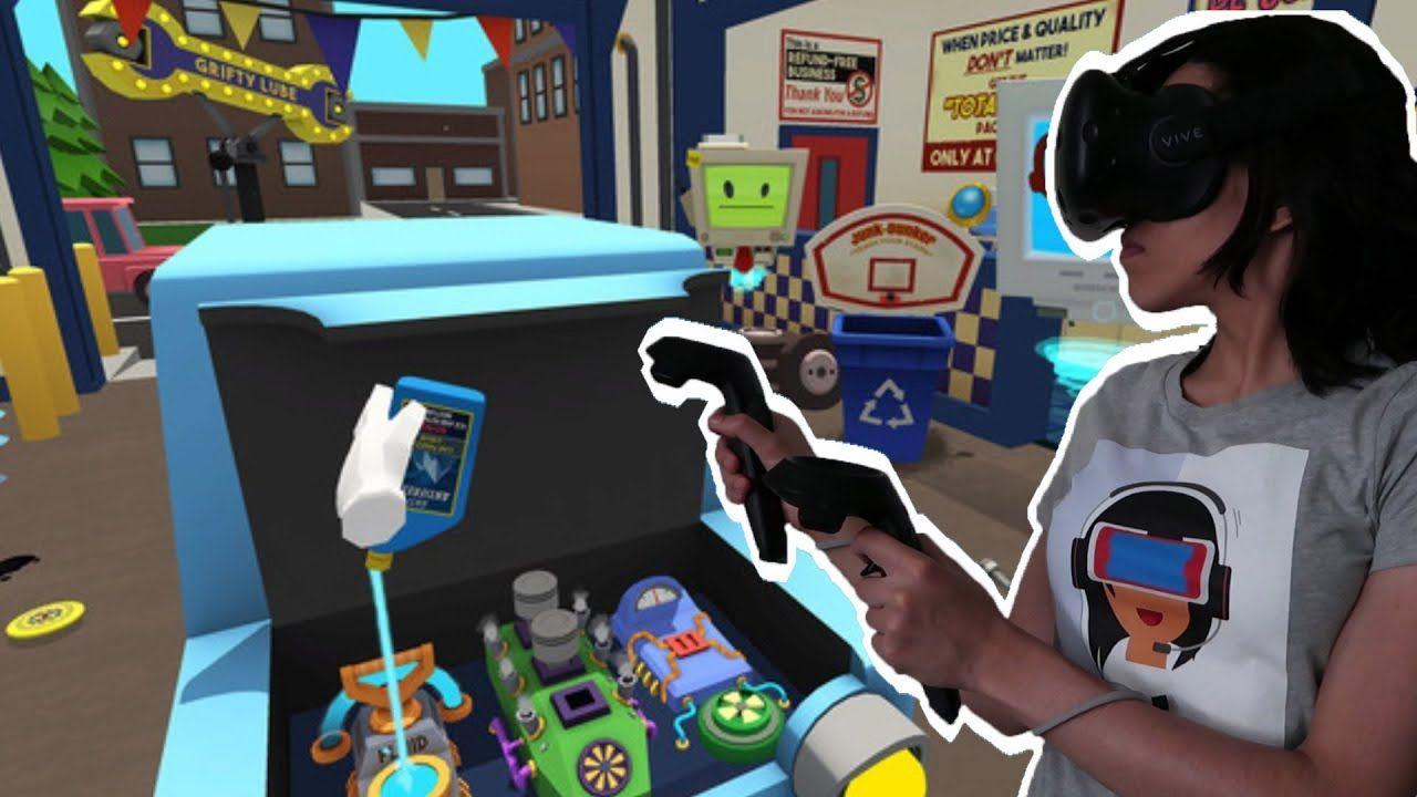Job Simulator Gameplay Auto Mechanic Car mechanic