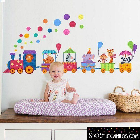Decora la habitaci n del beb con vinilos starstick - Vinilos cuarto bebe ...
