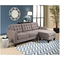 Fine Taylor Fabric Reversible Sectional Grey Products Caraccident5 Cool Chair Designs And Ideas Caraccident5Info