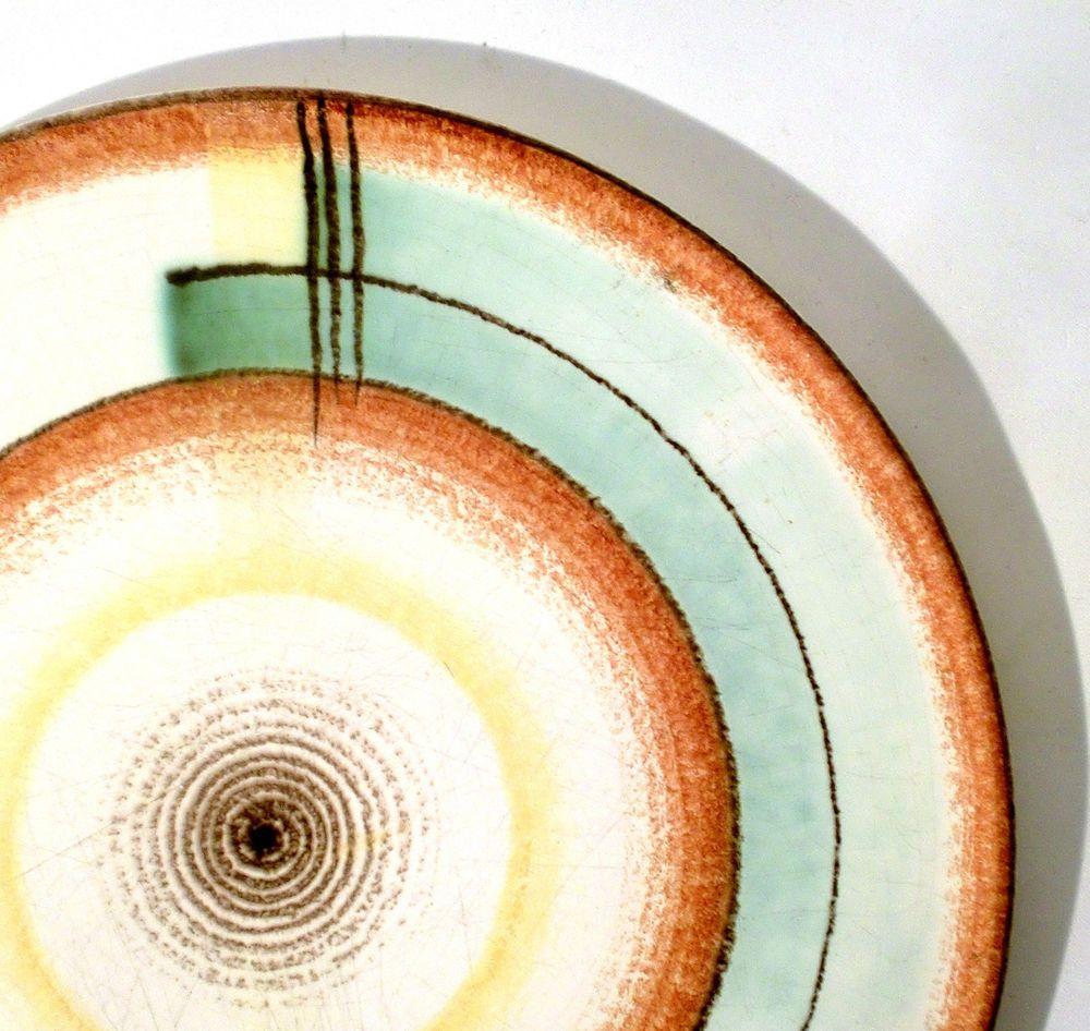 Elsterwerda Spritzdekor Tortenplatte U Fesca Cake Plate Plat A Gateau Bauhaus Ebay Elsterwerda Kuchenplatte Tortenplatte