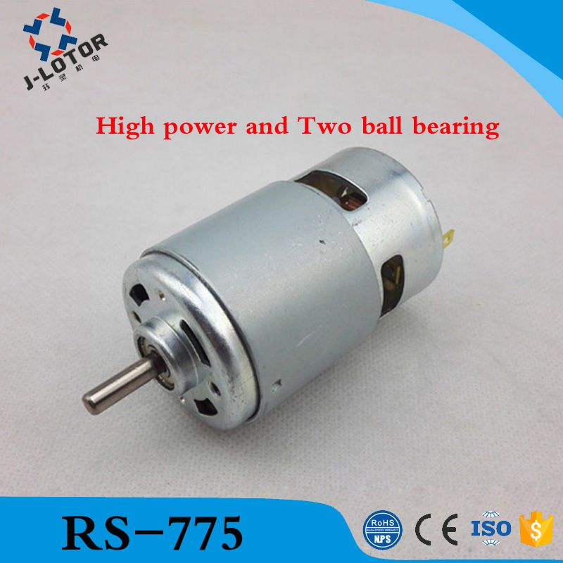 Rs 775 Dc Electric 775 Motor For Drill 12v 24v 80w 150w 288w Brush Dc Motors Rs 775 Lawn Mower Motor With Two Ball Bearing A Lawn Mower Motor Lawn Mower Mower