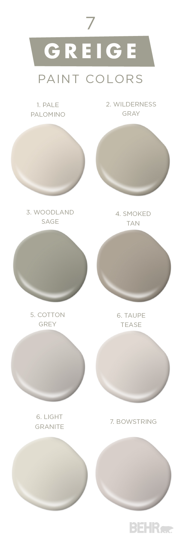 Attractive You Can Never Have Too Much Of A Good Thing With This Collection Of Classic  Neutral Paint Colors From BEHR. Embrace U201cGreige,u201d And Mixture Of Gray And  Beige, ...