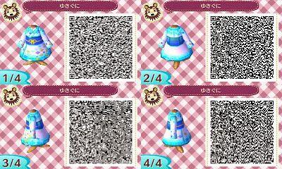 Animal Crossing: New Leaf: ULTIMATE KIMONO COLLECTION- Animal Crossing New: Leaf QR Codes