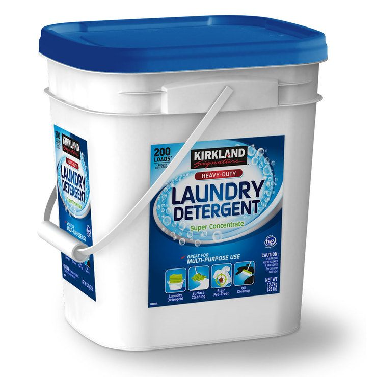 Kirkland Signature Super Concentrate Washing Powder 12 7kg Costco Uk Kirklands Washing Powder Tough Stain