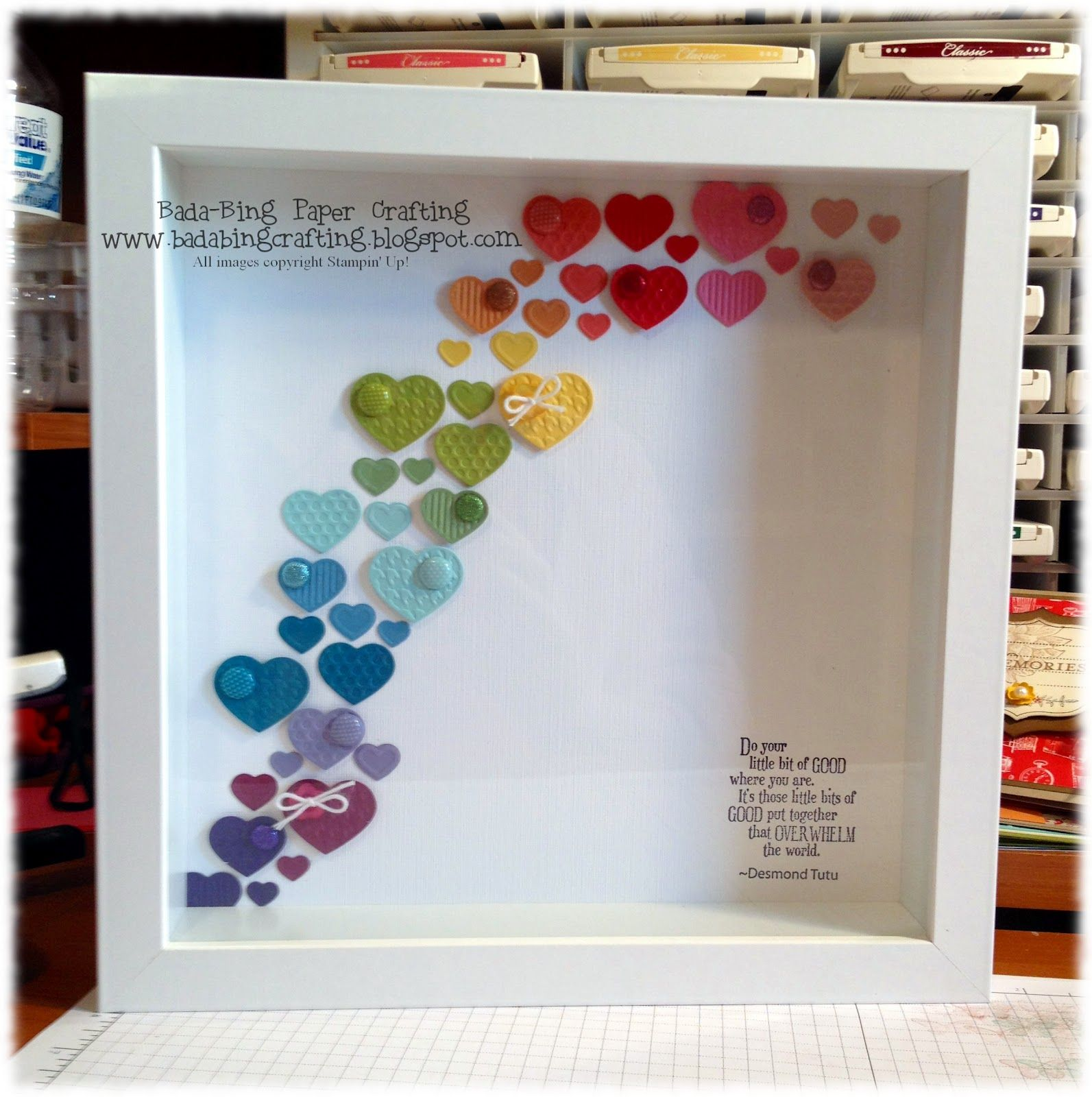 Shadow Box ~ Do your little bit of GOOD where you are...