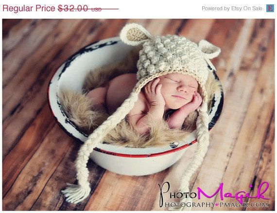 4e8413a6cfa CYBER SALE Mary Had a Little Lamb Hat by cuteasababysbutton