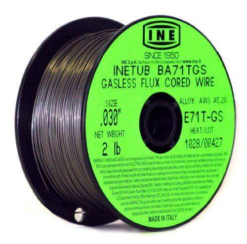 Inetub Ba71tgs 030 Inch On 2 Pound Spool Carbon Steel Gasless Flux Cored Welding Wire Welding Wire Flux Core Welding Welding