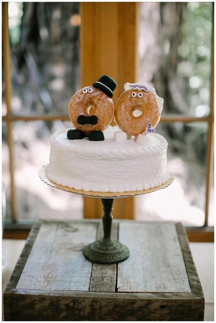 Nestldown Wedding, Amy + Jeremy #donutcake