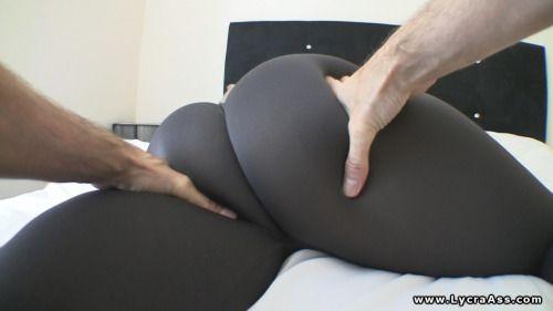Big Ass Massage In Tight Lycra Leggings Pov