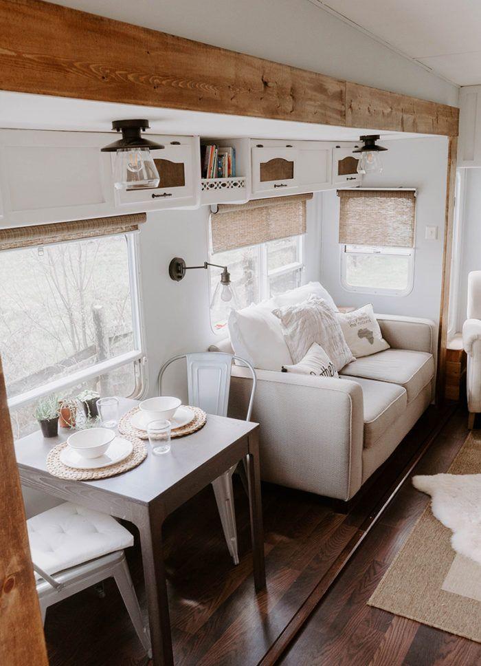 Modern Farmhouse Inspired Fifth Wheel