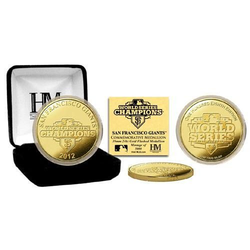 2012 World Series Champions Gold Coin