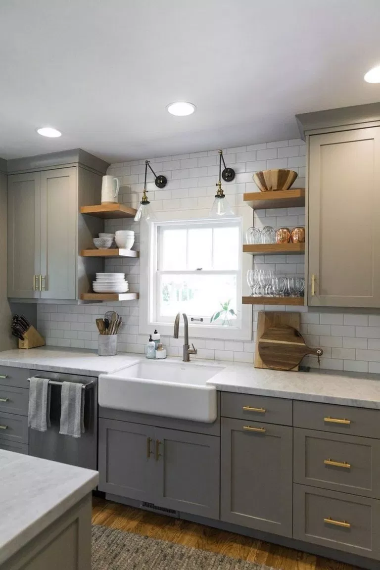 ✔62 inspiring kitchen cabinet that you must see 32 #newkitchencabinets