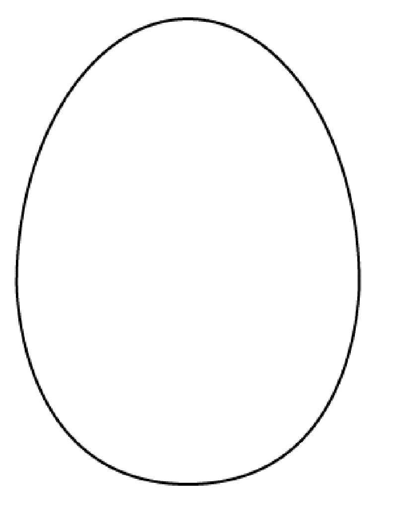 Wards Way Of Teaching April 2011 Easter Egg Outline Easter Egg Coloring Pages Easter Projects [ 1035 x 800 Pixel ]