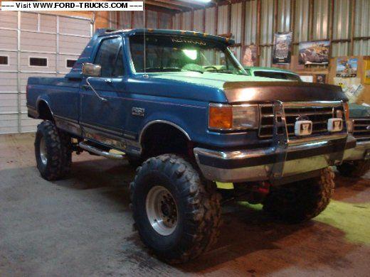 1989 f250 4x4 lift kit