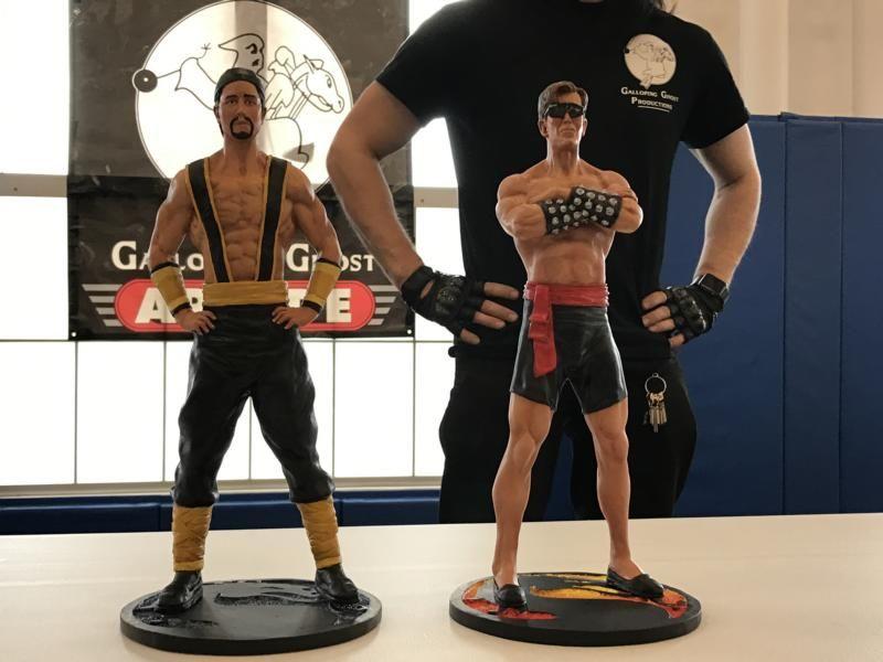 Shang Tsung MK2 y Johnny Cage MK1 - Figuras de Colección ...