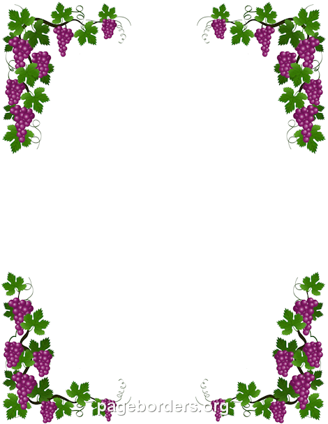 Grape Vine Border | wally bords | Pinterest | Grape vines ...