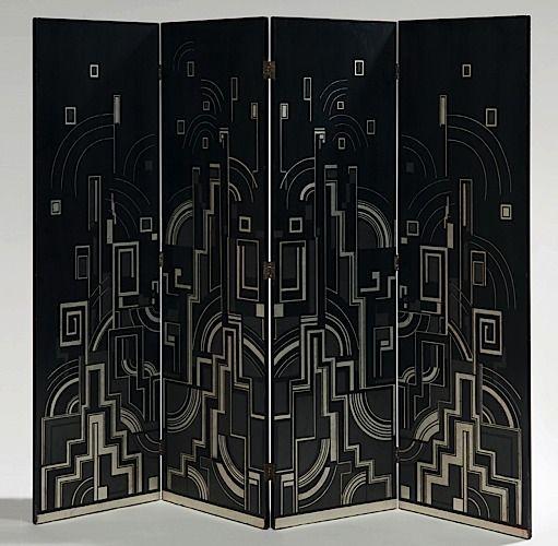 vente design art deco et bauhaus le 2 juin 2009 sleekdesign laque paravent et construction. Black Bedroom Furniture Sets. Home Design Ideas