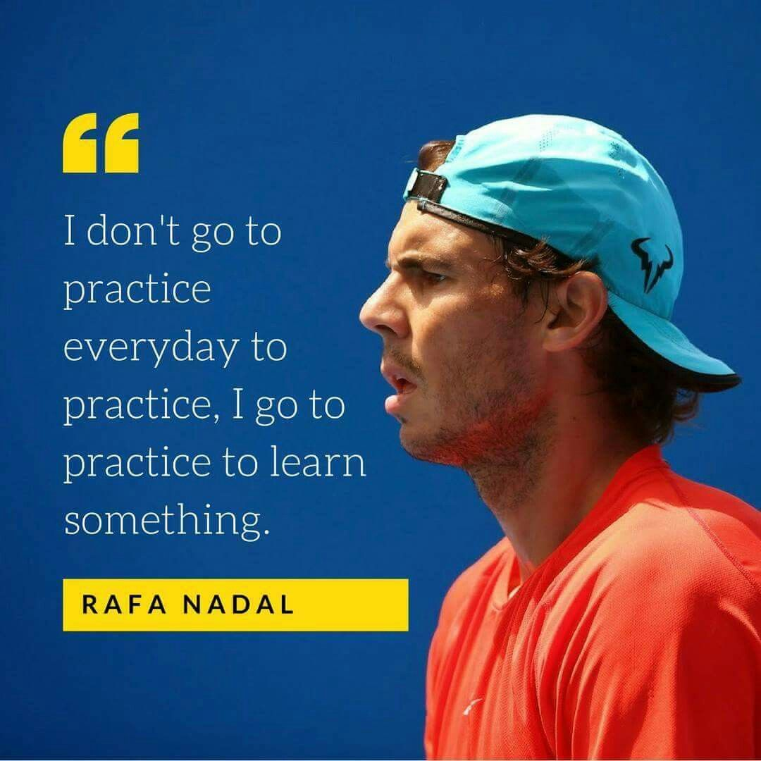 Pin By Rafael Nadal On Quotes Tennis Quotes Tennis Lessons Tennis