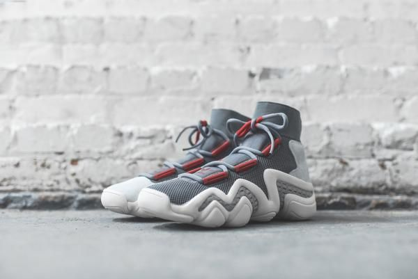 new product a01fe cd6d4 adidas Consortium Crazy 8 ADV - Grey  Red  Sesame – Kith