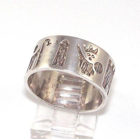 Celtic F.c Sterling Silver Ring Medium