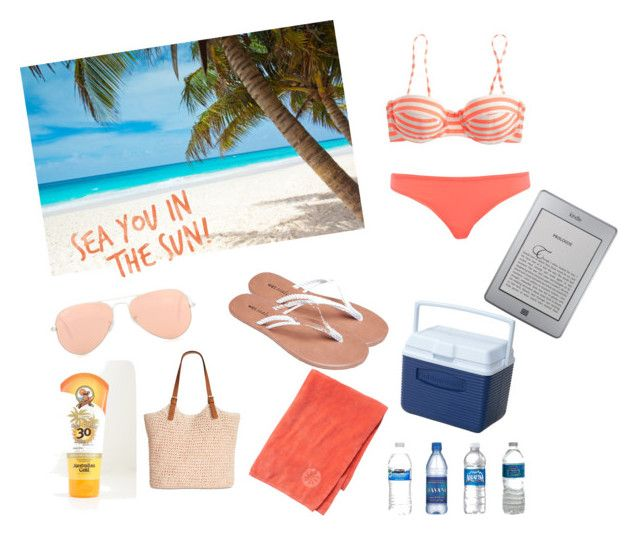 """""""Beach Bound"""" by michelle-dupuis on Polyvore"""