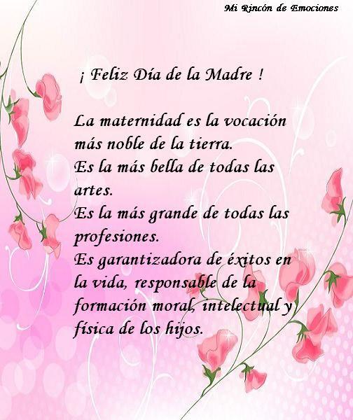 Maternidad Frase Jpg 504 600 Mensaje Del Día De La Madre Feliz Dia Madres Frases Feliz Día De La Madre