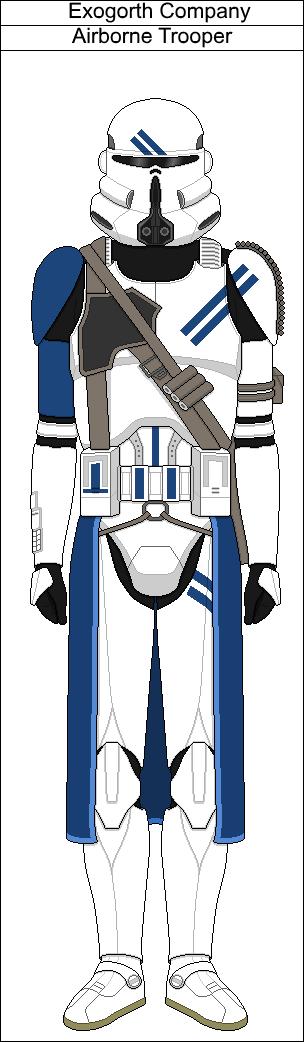 Exogorth Company Airborne Trooper by PieJaDak | Star Wars