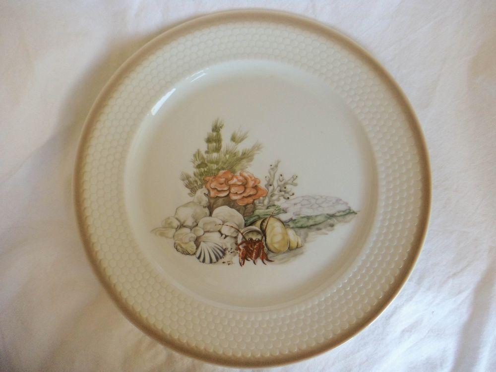 Melitta Jadeborg Atlantis Dinner Plate Made In Germany Decorative Plates Plates Dinner Plates