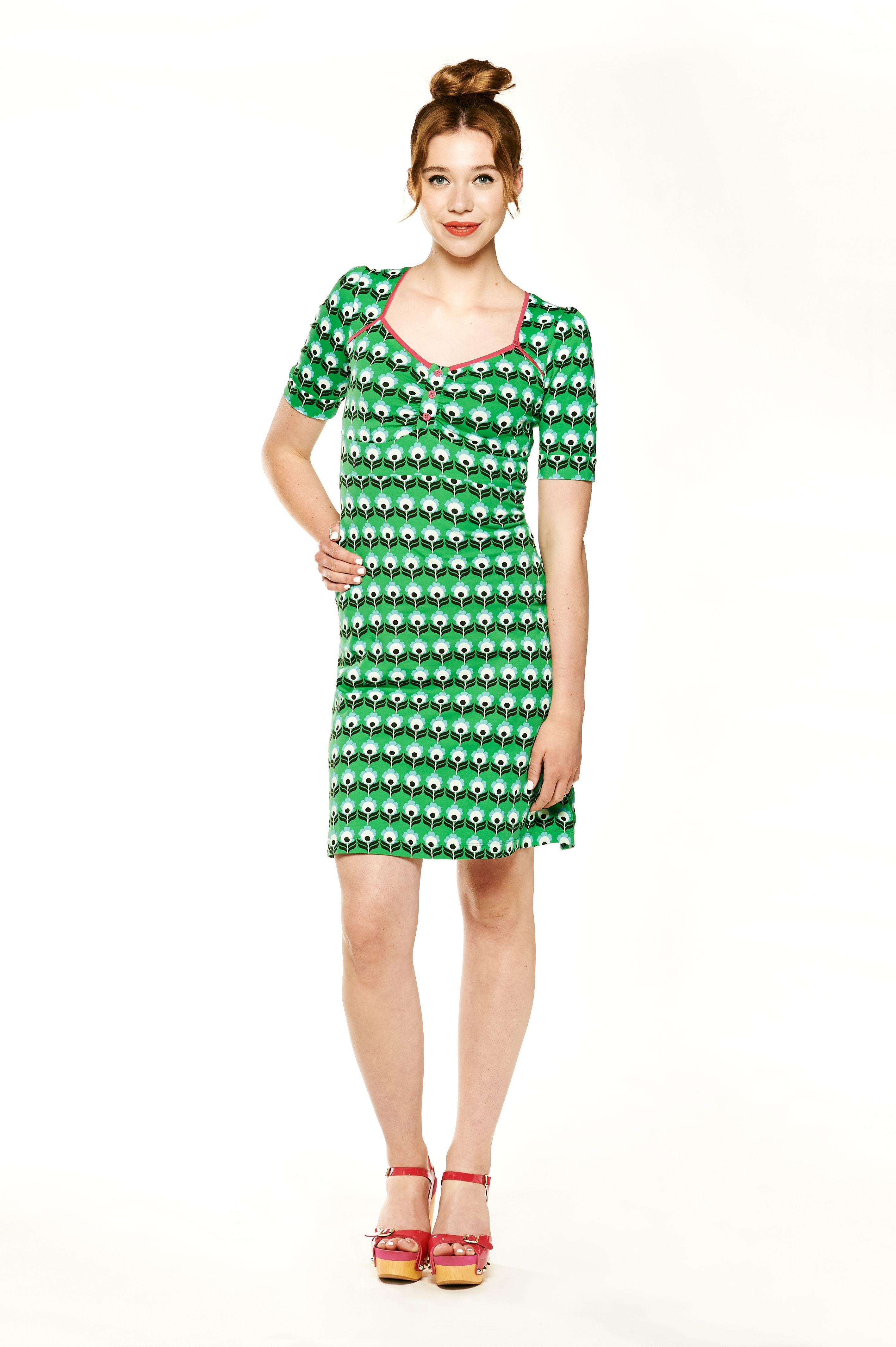 75407df74d30ec Tante betsy dress Peacock Green