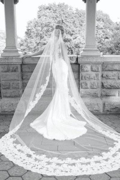 Wedding Dress Veil Cathedral VeilsCathedral Length