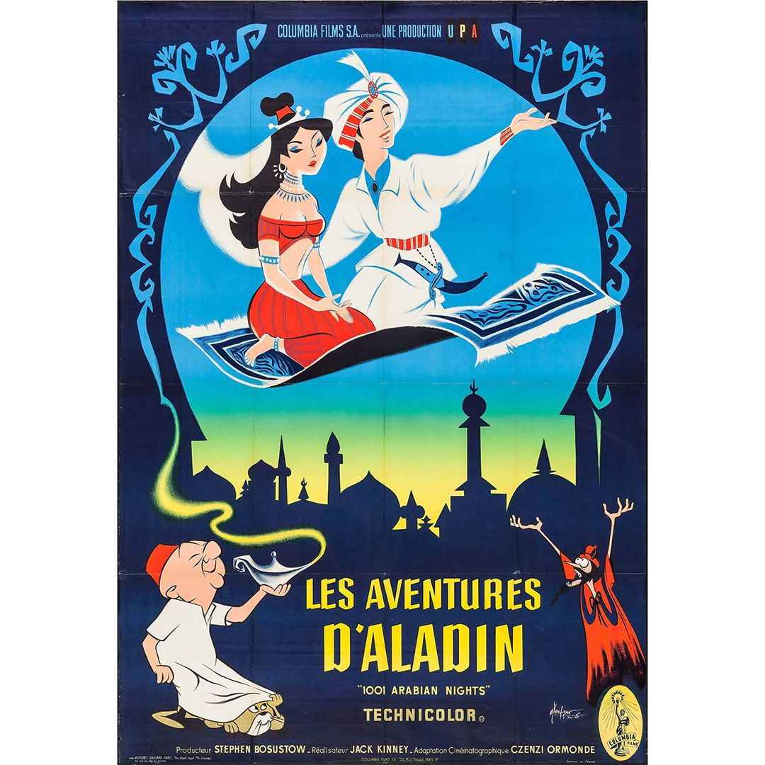 1001 Arabian Nights Movie Poster Arabian Nights Movie Posters