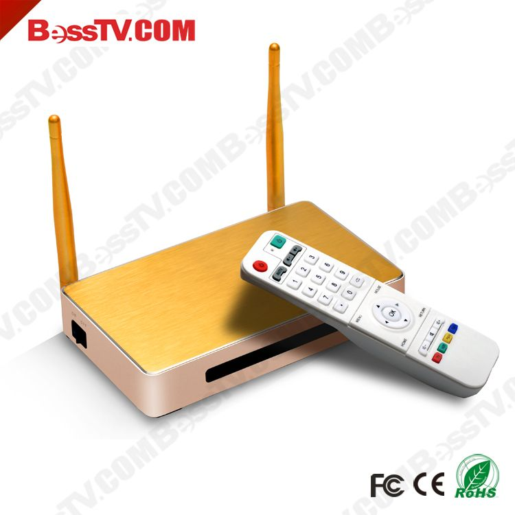 Gold free subscription full hd android tv box for arabic iptv