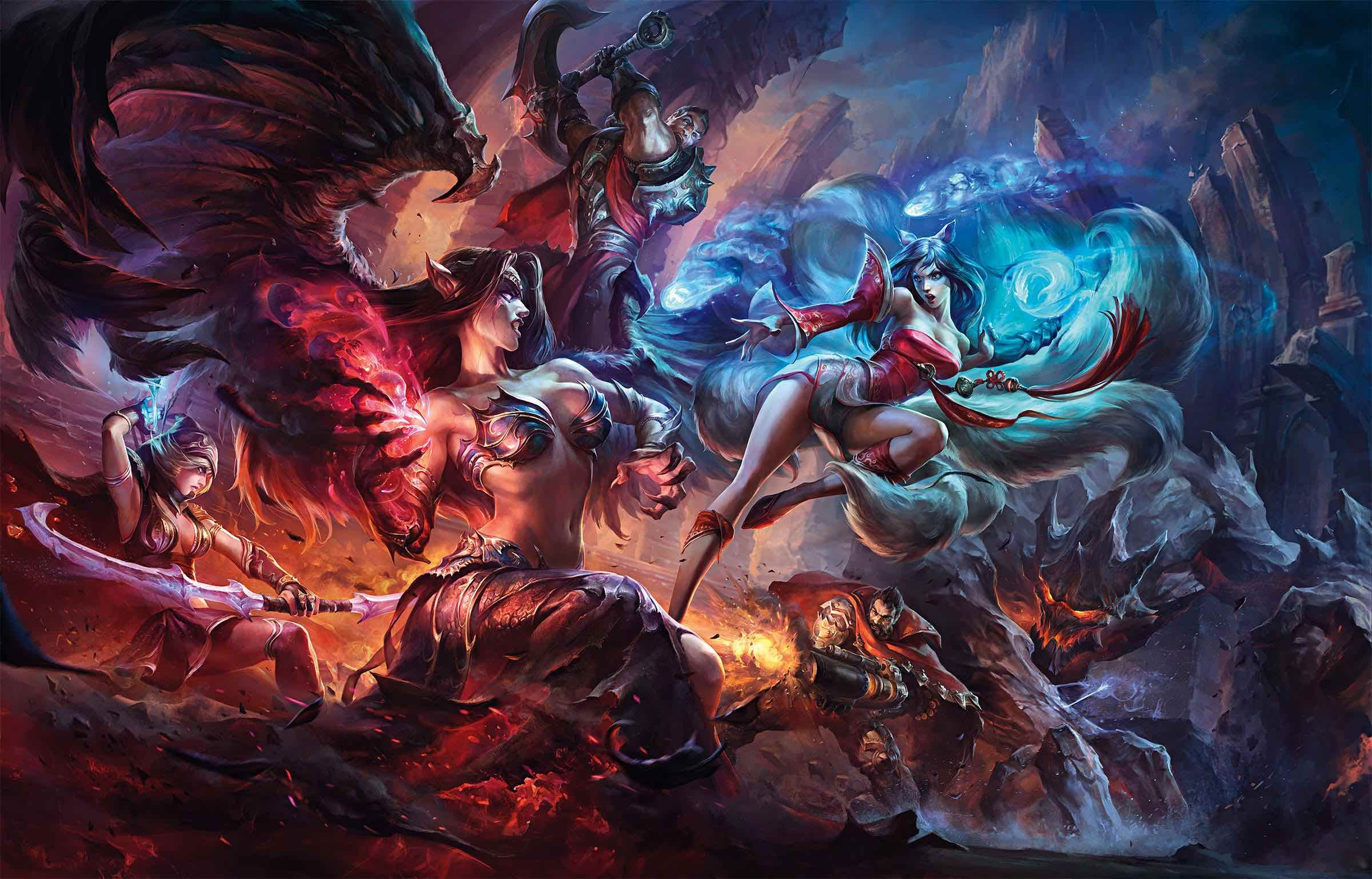 Enjoy The Art Of League Of Legends In A Collection Of 90 Official Concept Art League Of Legends Game League Of Legends Legend Games