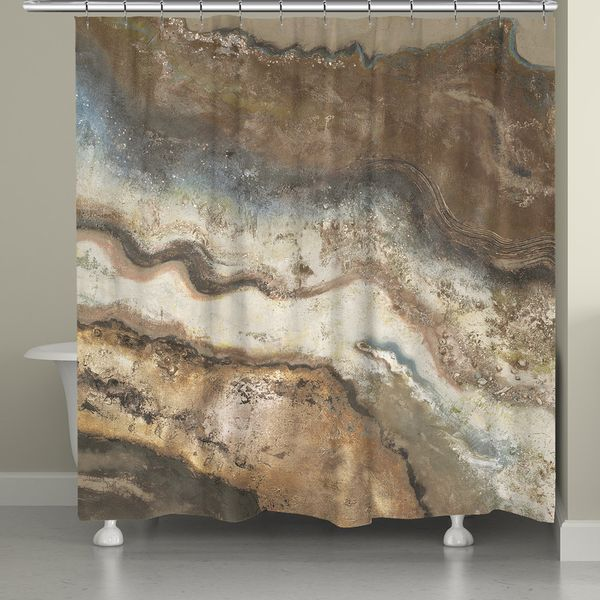 Laural Home Rock Flow Shower Curtain by Laural Home | Home ...