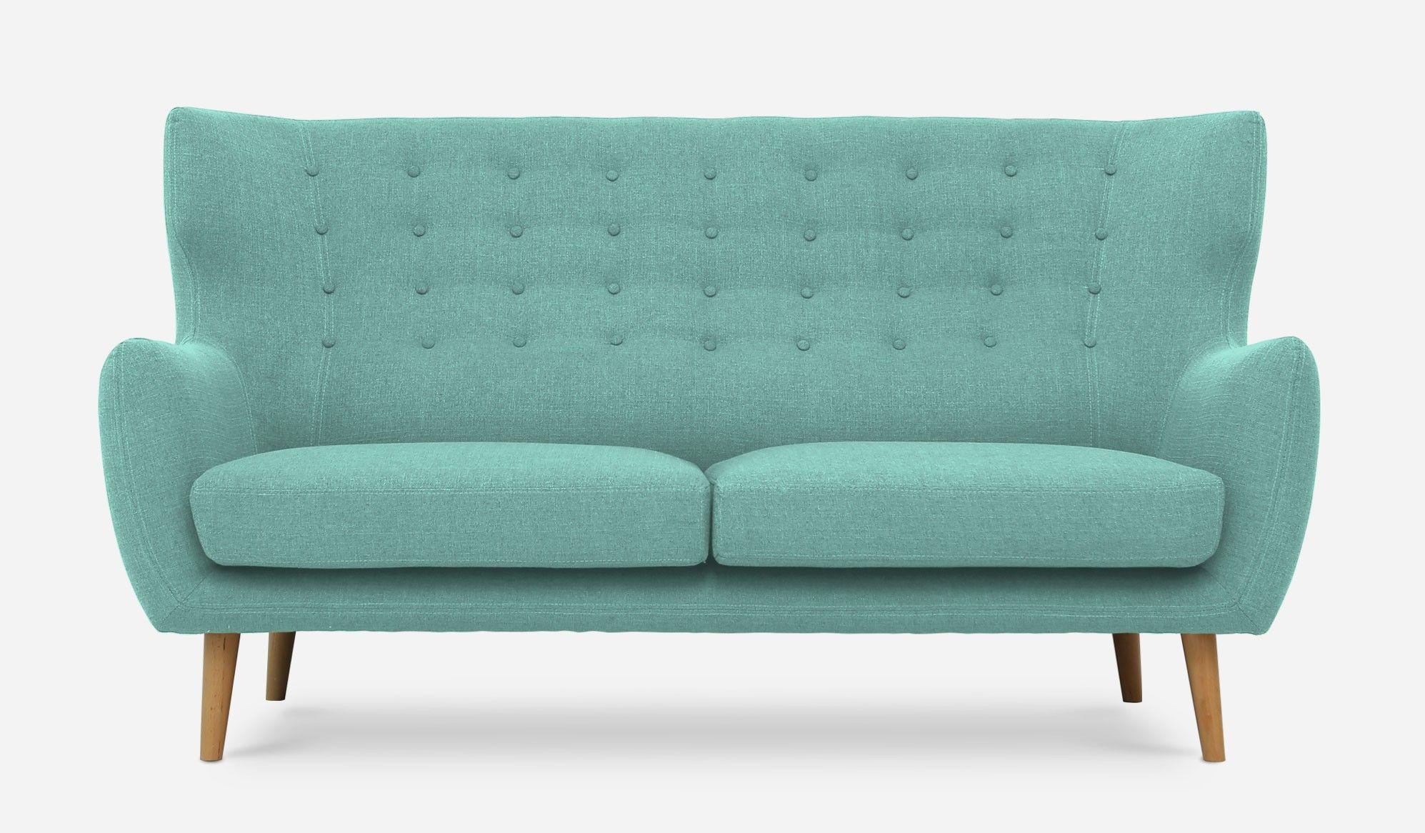 beck sofa tiffany blue by castlery - Tiffany Blue Living Room Pinterest