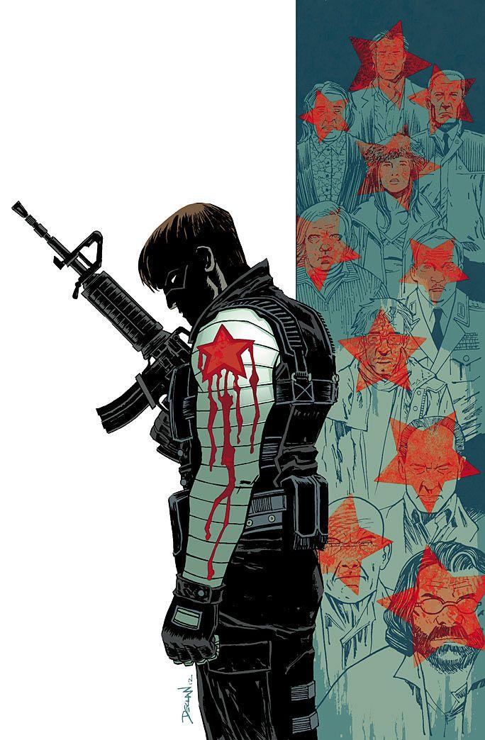 Winter Soldier | Ed Brubaker dejará Winter Soldier y Marvel Comics en diciembre
