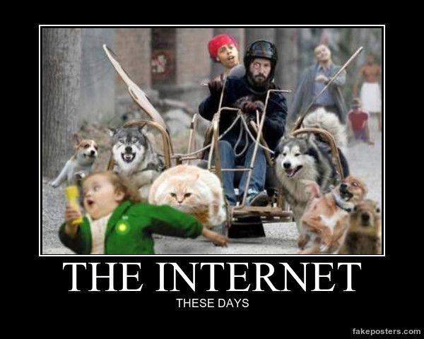 The Internet - Demotivational Poster