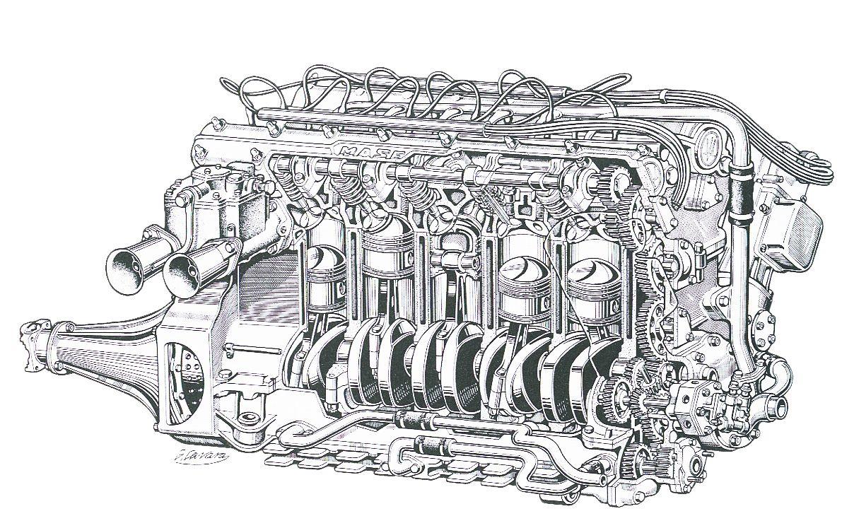 Unusual Engine Schematics Contemporary - Electrical Circuit ...