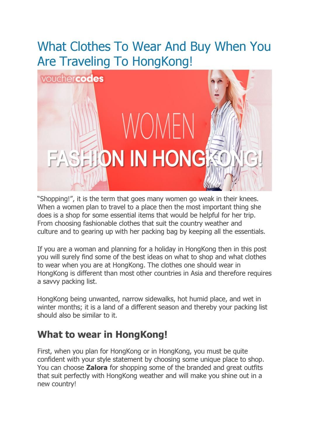 b4967b64d6934 What clothes to wear and buy when you are traveling to hongkong ...