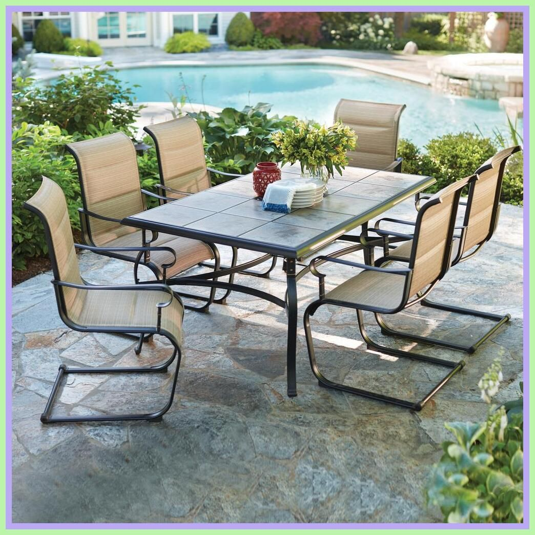 105 Reference Of Patio Table Glass Replacement Home Depot In 2020 Patio Dining Set Outdoor Dining Set Patio