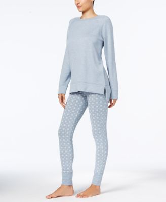 1f39b4cbae Alfani Cowl Tunic   Pajama Pants Sleep Separates