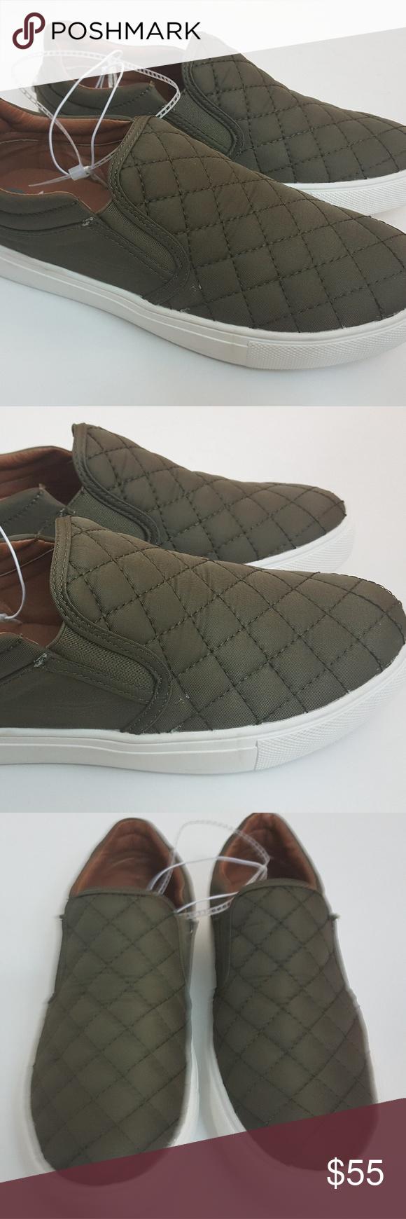 fe5aa278239c7 Steve Madden Ecentric Ellen Slip On Sneakers Sz 7 Steve Madden ...