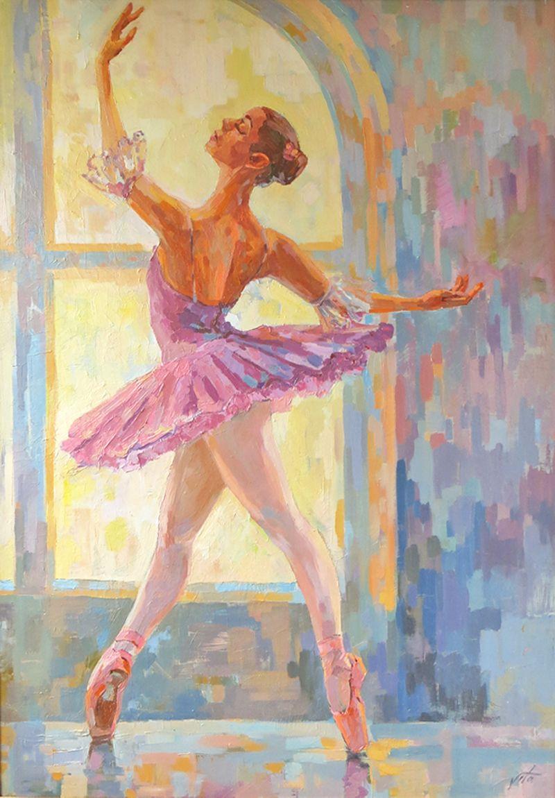картинки на которых нарисована балерина краской обещал, дизайнерами сделали