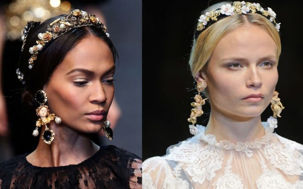c4f1631a40c9 Hair Accessories Trend in 2013-Dolce   Gabbana Accessories in ...
