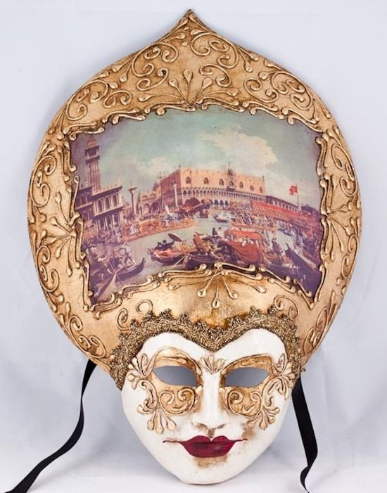 Decorative Venetian Masks Magnificent Salome Repubblica 2 Venetian Mask #decoration #home #italian Design Inspiration