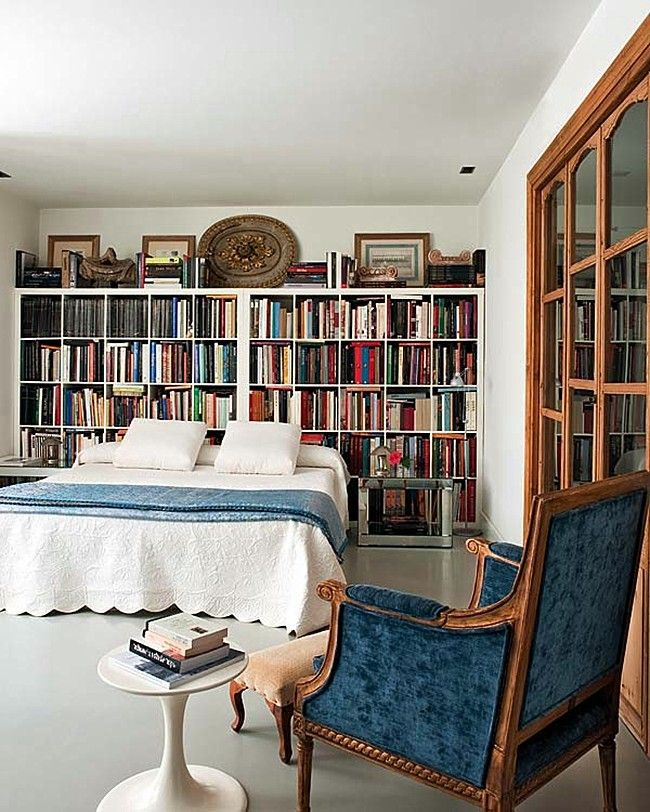 Stupendous Library Bedroom Rooms Largest Home Design Picture Inspirations Pitcheantrous