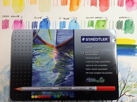 This Is A Video Demonstration And Review Of The Staedtler Karat