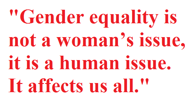 Gender Equality Quotes Gender Equality Slogans Gender Quotes