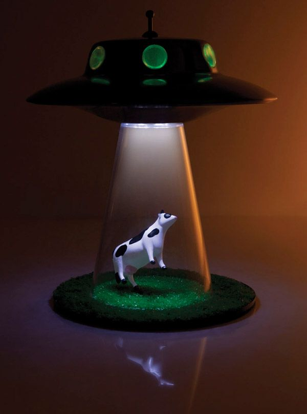 Alien Abduction Lamp Lands Lamparas Caseras Disenos De Unas
